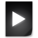 128x128px size png icon of Movie File
