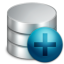 128x128px size png icon of New Database