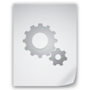 128x128px size png icon of Settings File
