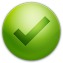 128x128px size png icon of Tick