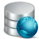 128x128px size png icon of Web Database