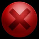 128x128px size png icon of Alarm Error