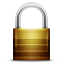 128x128px size png icon of Alarm Padlock