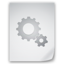 128x128px size png icon of Files Settings File