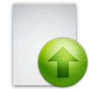 128x128px size png icon of Files Upload File