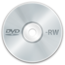 128x128px size png icon of Media DVD RW
