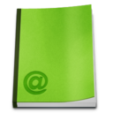 128x128px size png icon of Misc Address Book
