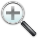128x128px size png icon of Misc Zoom In