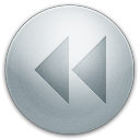 128x128px size png icon of alarm backward