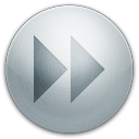128x128px size png icon of alarm forward