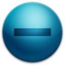 128x128px size png icon of alarm minus