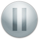 128x128px size png icon of alarm pause