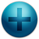128x128px size png icon of alarm plus