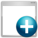 128x128px size png icon of files new window