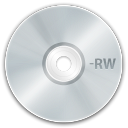 128x128px size png icon of media cd rw