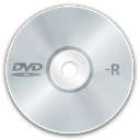 128x128px size png icon of media dvd r