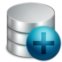 128x128px size png icon of misc new database