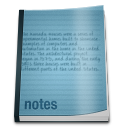 128x128px size png icon of misc notepad