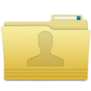 128x128px size png icon of Folders User Folder