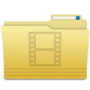 128x128px size png icon of Folders Videos Folder