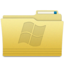 128x128px size png icon of Folders Windows Folder