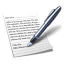 128x128px size png icon of Wordpad