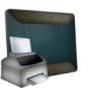 128x128px size png icon of Printer
