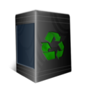 128x128px size png icon of TrashCan Empty
