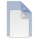 128x128px size png icon of (toolbar) documents blue