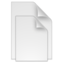 128x128px size png icon of (toolbar) documents