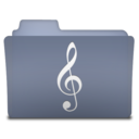 128x128px size png icon of Music (variant)