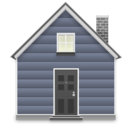 128x128px size png icon of home