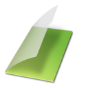 Documents vide vert Icon