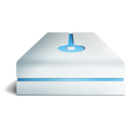 hdd bleu Icon