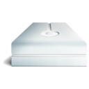 128x128px size png icon of hdd cream