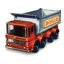 128x128px size png icon of 8 Wheel Tipper