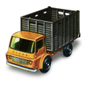 128x128px size png icon of Cattle Truck