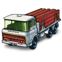 128x128px size png icon of DAF Girder Truck