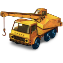 128x128px size png icon of Dodge Crane Truck