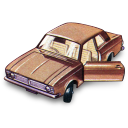 128x128px size png icon of Ford Cortina GT