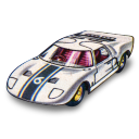 128x128px size png icon of Ford GT