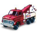 128x128px size png icon of Ford Heavey Wreck Truck with Movement