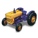 128x128px size png icon of Ford Tractor