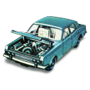 128x128px size png icon of Ford Zodiac MkIV