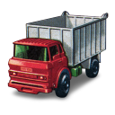 128x128px size png icon of GMC Tipper Truck