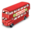 128x128px size png icon of London Bus