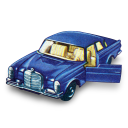 128x128px size png icon of Mercedes 300 SE