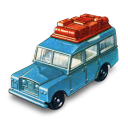 128x128px size png icon of Safari Land Rover