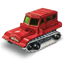 128x128px size png icon of Snow Trac Tractor