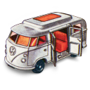 128x128px size png icon of Volkswagen Camper